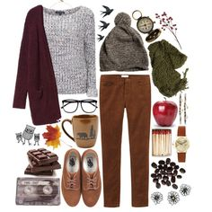 Autumn is here! by lithe-fae on Polyvore featuring Brave Soul, Monki, Toast, Vans, ASOS, Devon Pavlovits, H&M, Margaret Howell, CASSETTE and vintage