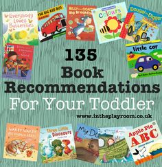 book recommendations for toddlers    @Heather Creswell Creswell Santamaria tg need any of these?