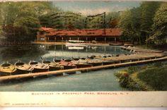 1908 Prospect Park Boathouse Brooklyn New York NY Postcard Y3247 | eBay