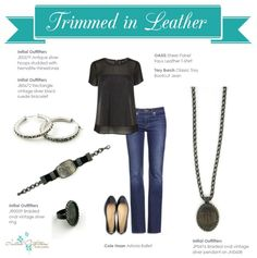 Get the look!! Experience Initial Outfitters!  The collection is fabulous! From classic pearls and monogrammed and personalized engraved jewelry, to the hottest new trends! We also have scarves, gifts for baby, home accessories, embroidered handbags and accessories – even monogrammed car decals! www.facebook.com/iowithdebra
