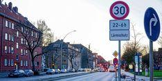 An der Eiffestraße in Hamm gilt bereits Tempo 30 – 160 weitere Strecken sollen folgen.