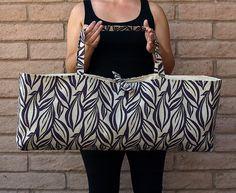 Purple Yoga or Pilates Tote Gym Bag PURPLE by ChellaBellaDesigns, $45.00