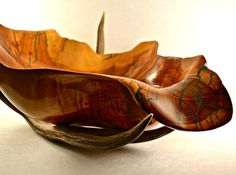 Free form carved bowl....photo shoot.