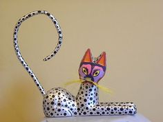 Silver cat ALEBRIJE