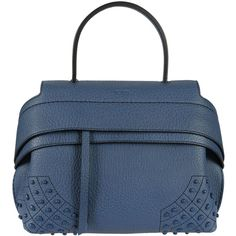 Tods Mini Wave Shoulder Bag (€1.148) ❤ liked on Polyvore featuring bags 644d2a2ec3