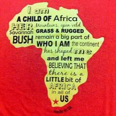 """""""Groen"""" Earth Warrior tshirt wat Marco by n mark in Houtbaai gekoop het. Back Label: Saving the planet. Made in SA. Loving it I am Proudly South African West Africa, South Africa, Africa Art, I Am An African, Africa Destinations, Xhosa, Les Continents, Kwazulu Natal, Savannah Chat"""