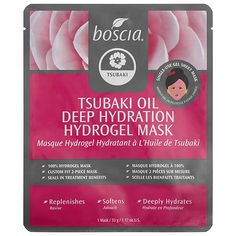 What it is:An innovative hydrogel mask that replenishes, softens, and provides deep hydration for ultra-soft skin. What it is formulated to do:This 100 percent hydrogel mask treats skin to its antiaging botanical blend of cold-pressed tsubaki (camel