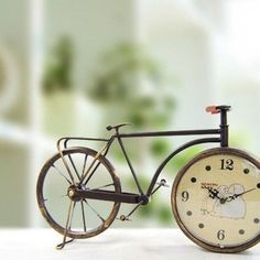 Time runs with the bicycle