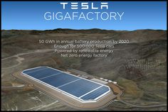 We now know that Tesla Motors' battery 'gigafactory' will be sited in Nevada, and there are some fairly substantial figures involved. It will cost Tesla an Tesla Motors, Tesla S, Nikola Tesla, Tesla Power, Tesla Coil, Renewable Energy, Solar Energy, Solar Power, Renewable Sources