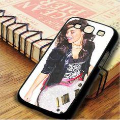 Demi Lovato Guitar Samsung Galaxy S3 Case