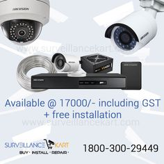 Bumper Deal!! #cctvsystem available @ most affordable number price.