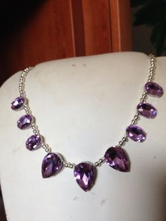 #collane in #cristalli con #metallo o #perle. Info@oro18.eu #oro18 #bigiotteria #bijoux  www.oro18.eu