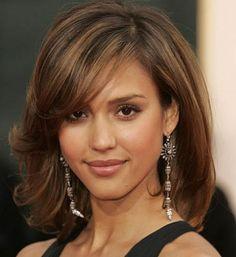 modelos de cortes de cabelos femininos medios - Pesquisa Google