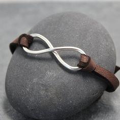 Infinity bracelet for men