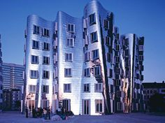Frank Gehry Buildings, Düsseldorf, Germany