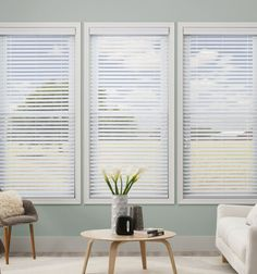Kellie Clements Simply Chic 2 1 Faux Wood Blinds IdeasSunroom