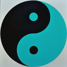 Wenlan Hu Frost - Black and Aqua Yin Yang on Silver Yin Yang, Chinese Philosophy, My Favorite Color, Favorite Things, Aqua Color, Paint Shop, Photoshop Photography, Textile Patterns, Tiffany Blue