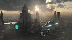 awesome futuristic metropolis 14708