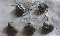 cement necklaces by Pedro Sequeira