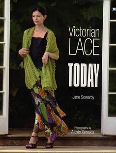 Victorian lace scarves