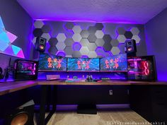 Me gusta, 35 comentarios – Tech▪️Setups▪️Gaming▪️Pcs ( … - Sala de juegos Ideas Computer Gaming Room, Gaming Desk Setup, Computer Setup, Gaming Pcs, Gaming Rooms, Cool Gaming Setups, Gamer Setup, Office Setup, Pc Setup
