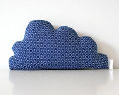 Shweshwe Cloud Cushion Handmade SMALL by TheFoxintheAttic on Etsy, £21.00