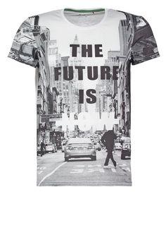 462befa5be38ad Camiseta print - white - Zalando.es