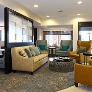 Have a question? Come to our front #desk at the SpringHill Suites Minneapolis West/St. Louis Park, who knows you may want to hangout for a little in our #stylish #lobby!