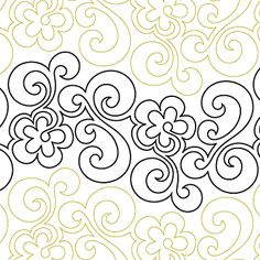 Chamomile - Digital - Quilts Complete - Continuous Line Quilting Patterns