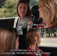 Bridesmaids Rose Byrne and Kristin Wigg