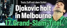 AO Final: Novak Djokovic def Dominic Thiem in 5sets