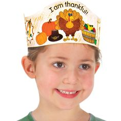 Ready-To-Decorate® Thankful Crowns