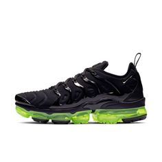 Buy Highest Quality Ua Air Vapormax Plus 'black Volt' Men And Womens Flyknit Sports Shoes From Perfectkicks With Affordable Cheap Price. Me Too Shoes, Men's Shoes, Nike Shoes, Sneakers Nike, Sb Stefan Janoski Max, Mens Skate Shoes, Nike Air Vapormax, Comfortable Shoes, Nike Men