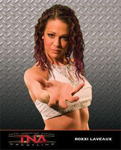 a great female wrestler, Nikki Roxx