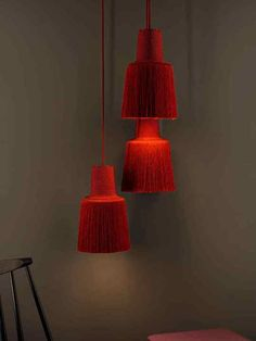 Modern Lighting Design, Luxury Lighting, Interior Lighting, Home Lighting, Rope Pendant Light, Pendant Lamp, Pendant Lighting, Casa Milano, Berlin Design