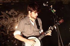 Winston Marshall, banjo of Mumford & Sons