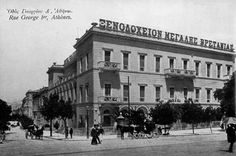 The history of the Hotel Grande Bretagne is entwined with the history of Athens and the state of modern Greece Night On Earth, Greece Pictures, Old Greek, As Time Goes By, Samos, History Of Photography, Athens Greece, Back In The Day, Best Hotels