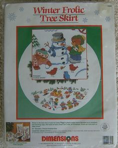 Design by Lucy Rigg. Christmas counted cross stitch kit. Gorgeous Christmas project for the cross stick enthusiast! 11 count white Aida. | eBay!