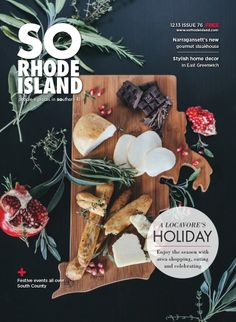 Local Rhode Island Holiday Shopping Guide. Cutting board can be purchased at Frog & Toad. (Art Direction: http://karlihendrickson.com/ Photography: http://tiffanymedrano.com/ )