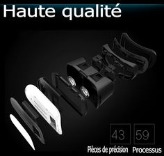 VR masque réalité virtuelle Vr Box, Bluetooth, Smartphone, Iphone, Control, Cufflinks, Glasses, Stuff To Buy, Accessories