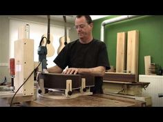 Building a DeSmet Steelstring guitar by Luthier Peter de Smet (PDS Guitars) - YouTube