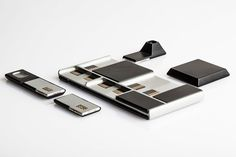 the google project ara spiral 2 device includes support for a 1280 x 720 display, 5-megapixel camera, wifi and bluetooth, speaker and thermal imaging system.