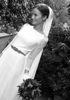 Vestido de novia de Pol Nuñez.