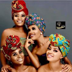 New Design Lovely African headtie Ségo Gels Available in Many Colours