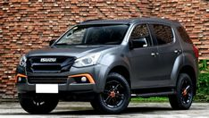 2019 Isuzu Mux is the featured model. The Isuzu Mux 2019 image is added in car pictures category by the author on Oct Mitsubishi Pajero Sport, Suv Cars, Honda Fit, Car Magazine, Toyota Land Cruiser, Car Pictures, Offroad, Dream Cars, Trucks