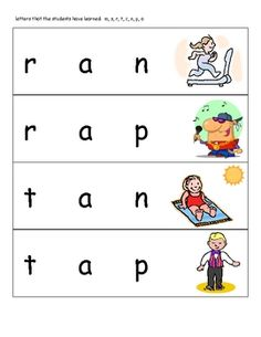 Visit my blog to learn how to use this Literacy Center activity!http://mrsungerskinders.blogspot.com/...