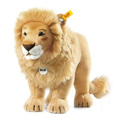 Steiff 80cm Studio Lion Soft Toy. Lovingly found by www.foryourbuysonly.com