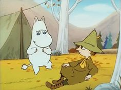 Here be Gundam and Moomin gifs Moomin Cartoon, Moomin Wallpaper, Les Moomins, Moomin Valley, Tove Jansson, Fanart, My Idol, Cool Art, Concept Art