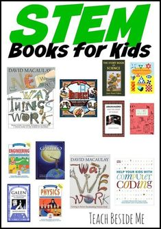 AWESOME STEM Book list for Kids   -Sponsored by 4H