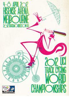 UCI Track Cycling World Cycling Championships poster